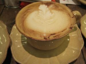 Cappuccino decorado, Mamá Framboise