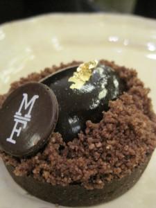 Tarta de chocolate, Mamá Framboise