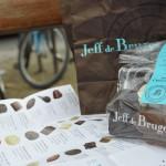 Bombones, bolsa y catálogo