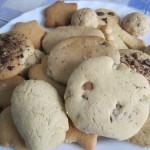 Plato con galletas