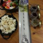 Aperitivos & kit de coctelería