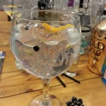 Gin tonic de La Glotona
