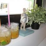 Cócteles de vodka y maracuyá Fishka