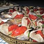 Zakuski de sardinas y tomate Fishka