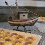 Zakuski de arenques Fishka