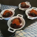 Zakuski de carne y remolacha Fishka