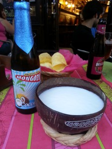 Cerveza de coco