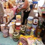 Productos típicos en el mercadillo de Teror