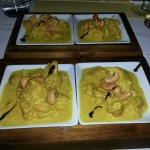 pollo indio con coco, tandori, mantequilla y anacardos