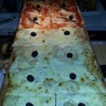 1 metro de cuatro quesos y Nápoles