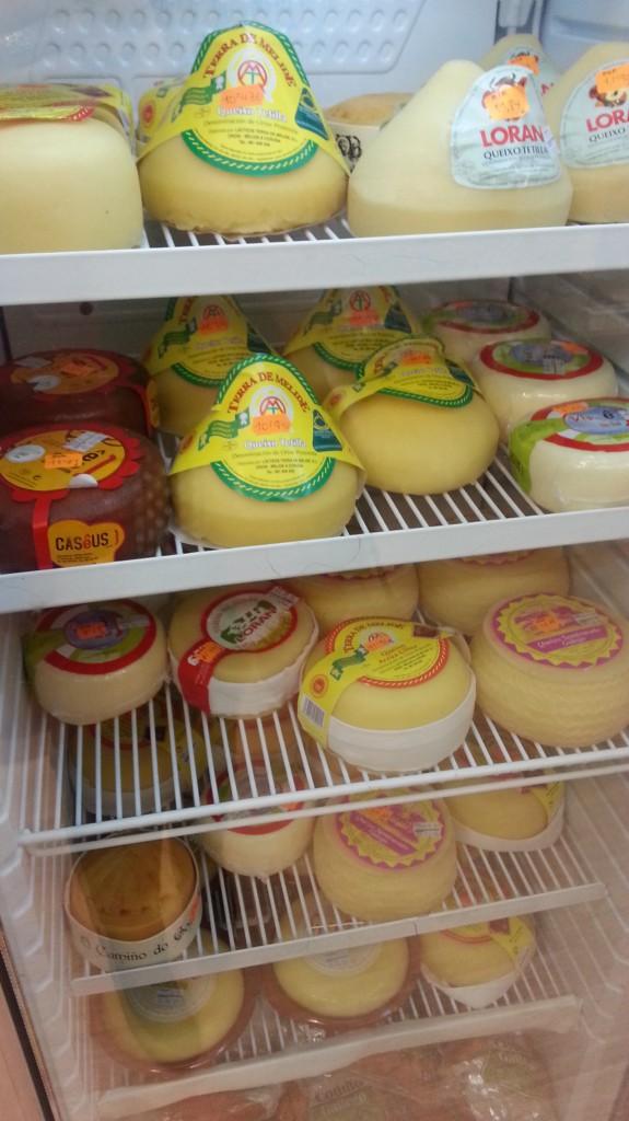 Expositor de quesos