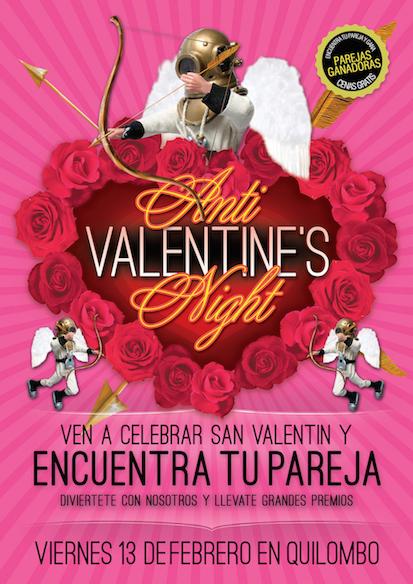 Anti San Valentin en Quilombo