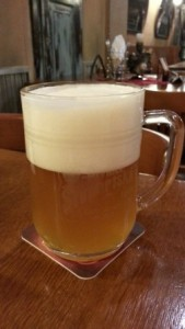 Cerveza sin filtrar