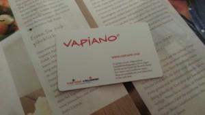 Tarjeta de Vapiano