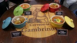 Cazuelitas de Cocineros al Volante en Gambrinus