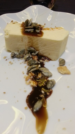 Cheesecake de calabaza, El Calecho, León