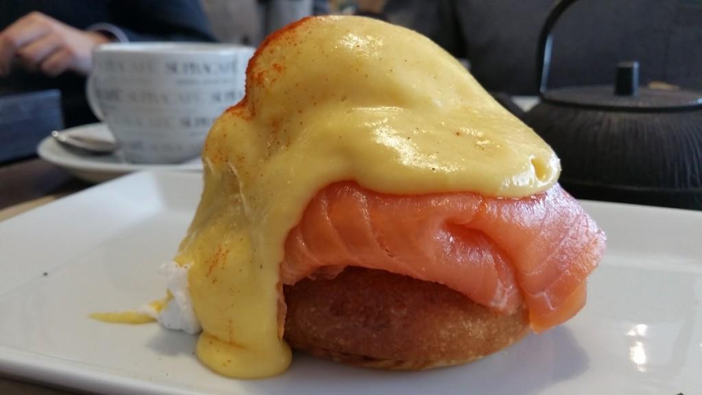Brunch Fonty, huevos Benedict