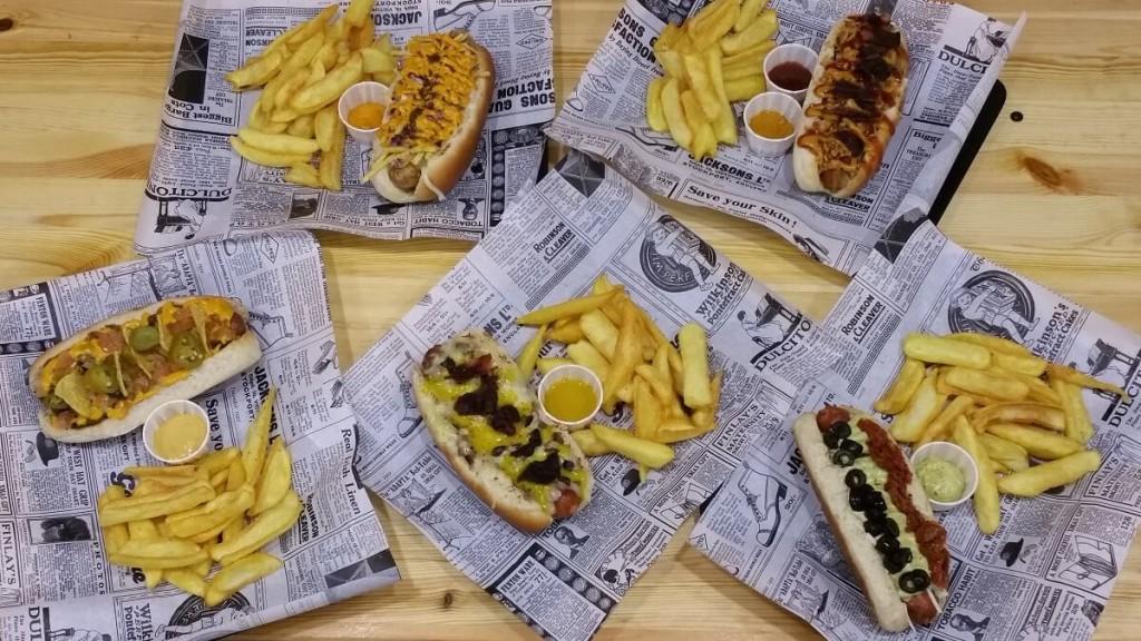 Hot dogs de Paperboy, Madrid