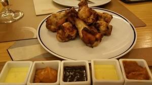 Alitas de pollo. Le Coq