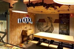 Interior de Le Coq
