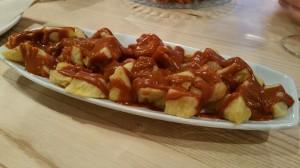 Patatas bravas. Orgaz