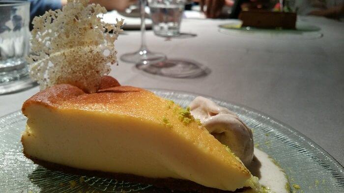 Tarta de queso. Orgaz