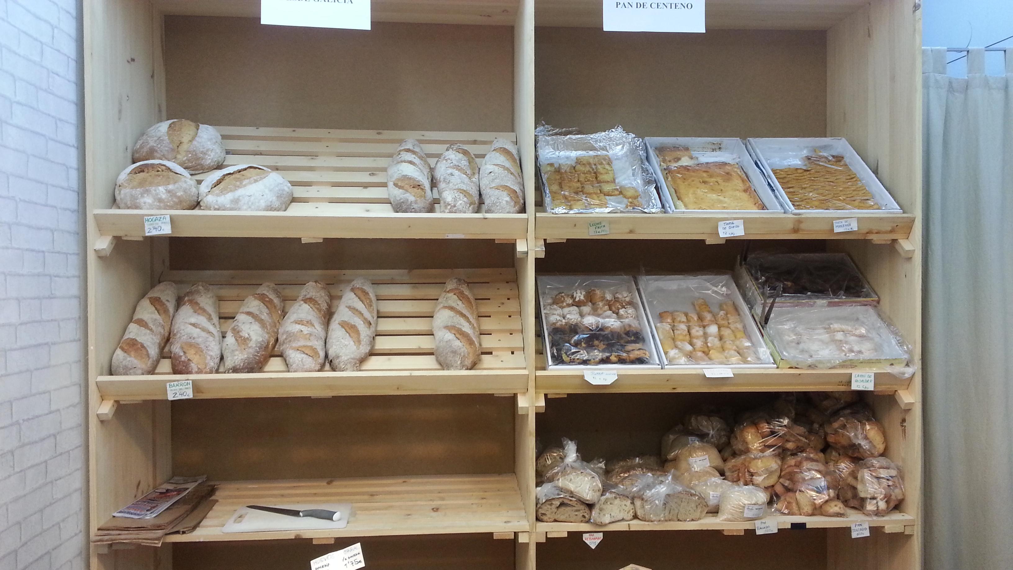 Pan y dulces