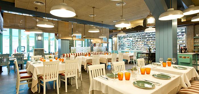 Interior del restaurante (foto de El nou Ramonet)