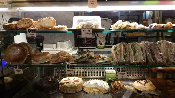 Mostrador salado - Brown Bear Bakery Madrid
