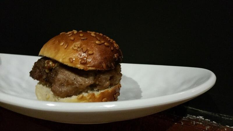Mini Hamburguesa Cinco Sentidos